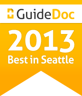 2013 GuideDoc Badge: Best in Seattle