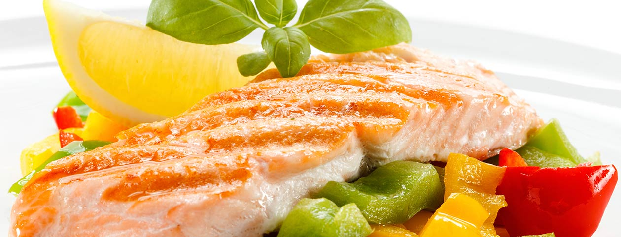 Fish and vegetables before Bariatric Surgery