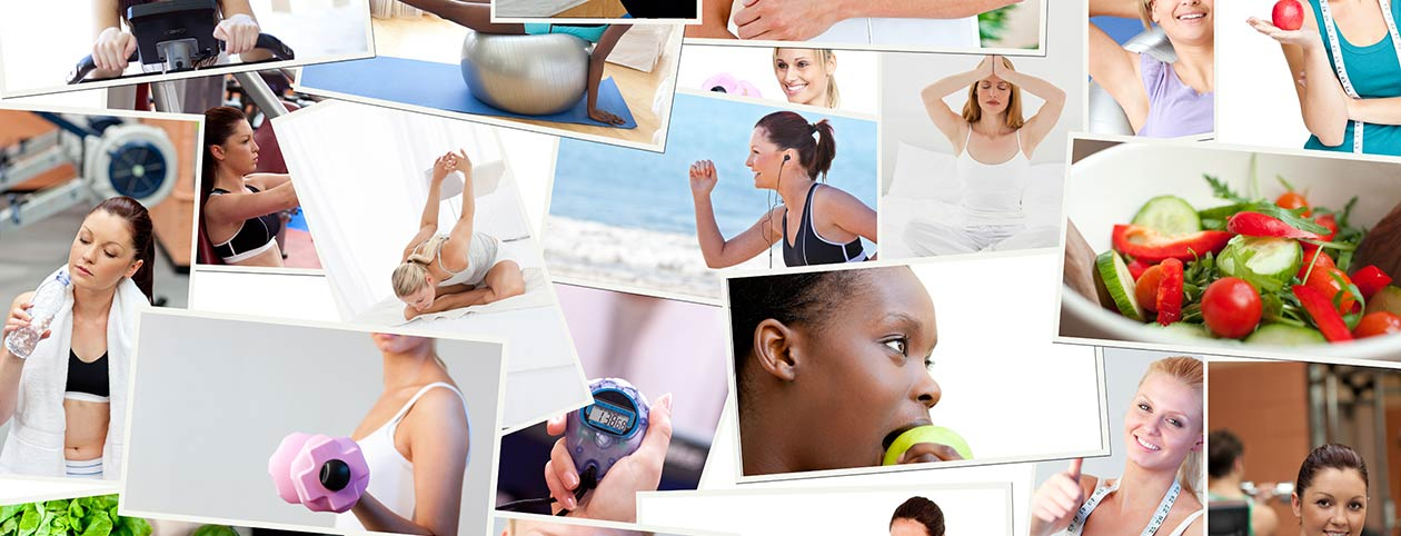 Collage of Weight Loss Camps