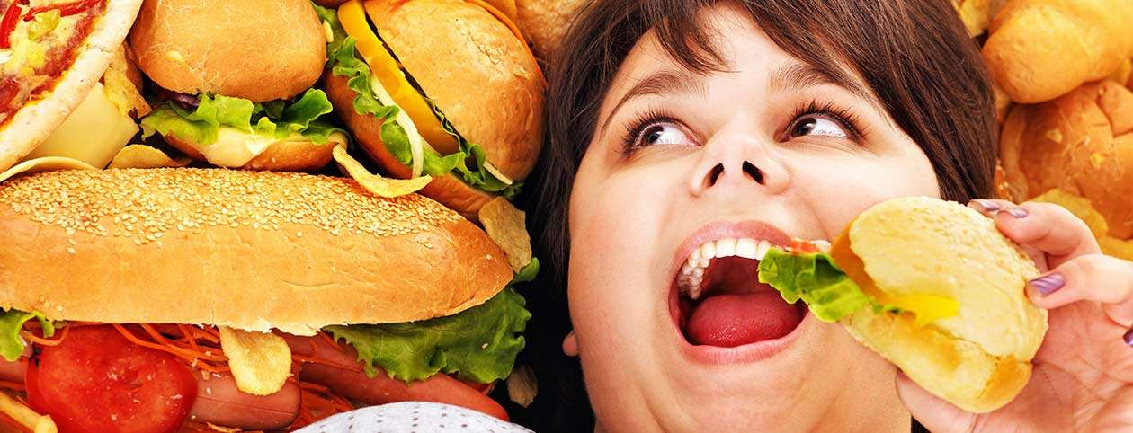 Woman Avoiding Foods After Bariatric Surgery