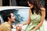 Man proposing after premaritalcounseling