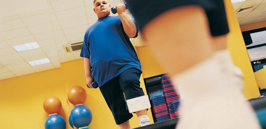 Man at weight loss camp one of quickest ways to lose weight