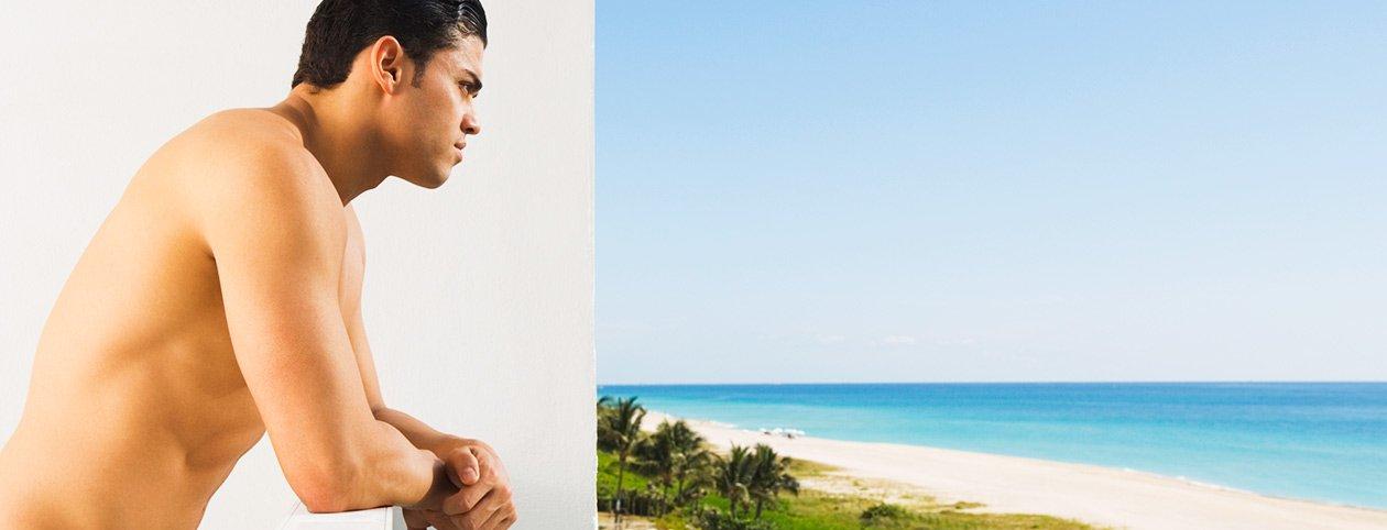 Man in Florida considering drug rehab cost