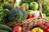 Assorted vegetables for a high fiber diet plan