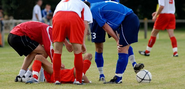Injury requiring sports physical therapy