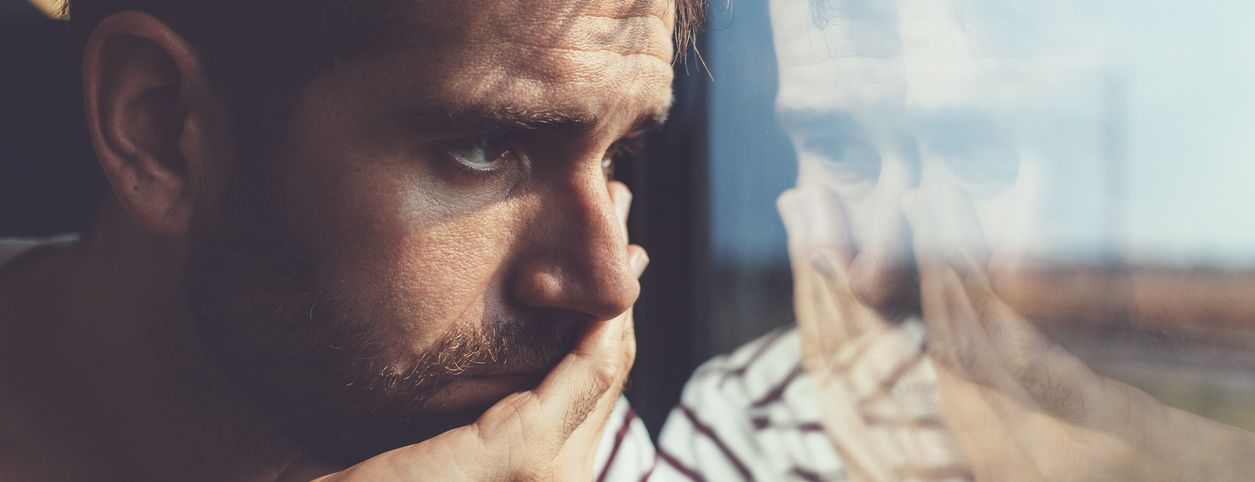 Man with depression at risk of cardiovascular disease