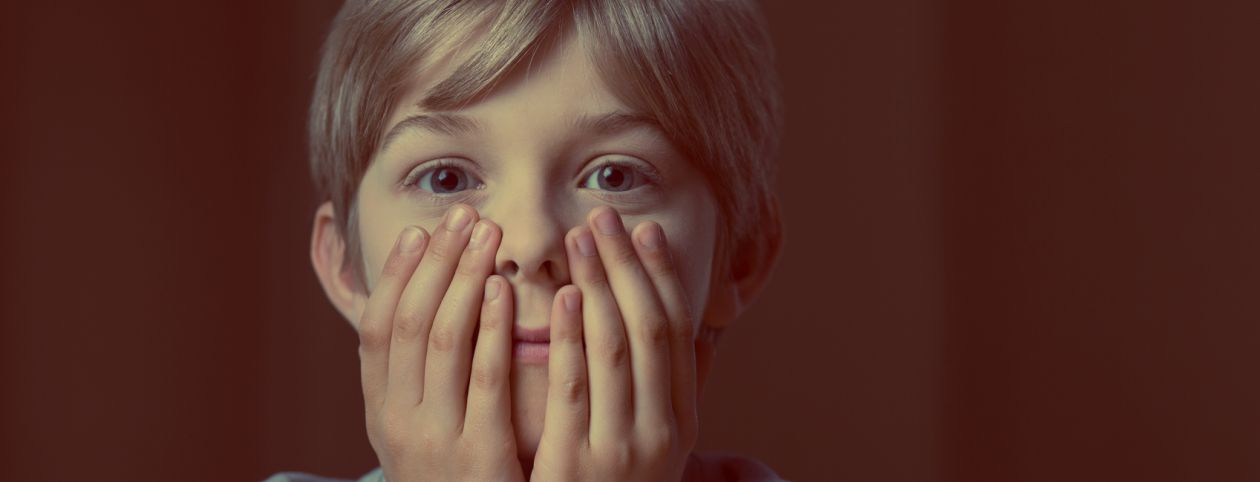 Child with trauma needing mental health services